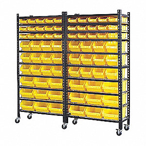 "67-3/4"" x 15-1/2"" x 67-1/2"" Single Sided Pick Rack, 1000 lb. Load Capacity with 1000 lb. Load Capaci"