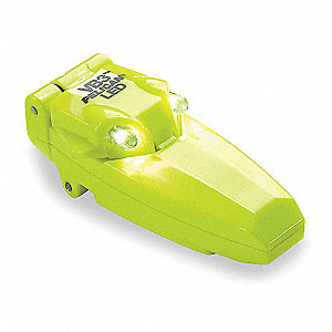 LED, Polymer, Maximum Lumens Output: 9, Yellow, 3.50""
