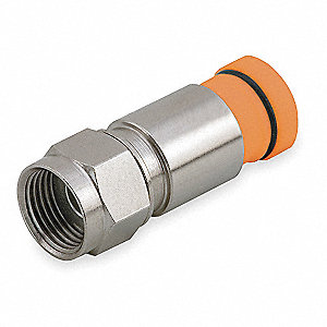 Coaxial Connector,RG59,F Type,PK50