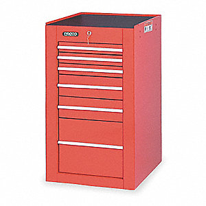 19 SIDE CABINET RED