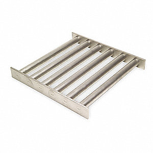 Magnetic Grate,Ceramic,12lLx16Wx1 1/2In