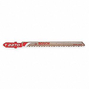 Jigsaw Blade,High Speed Steel,PK5