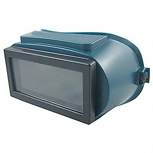 "Fixed Front Welding Goggles, Shade 5 Filter, 2"" x 4-1/4"" Viewing Area"