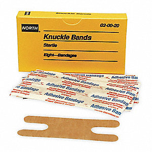 Knuckle Bandage,Beige,Cloth,PK8