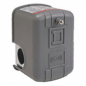 "Air Compressor Pressure Switch; Range: 40 to 150 psi, Port Type: (1) Port, 1/4"" MNPT"