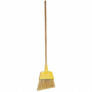 Synthetic Angle Broom, Overall Length 56""