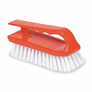Scrub Brush,Synthetic,Iron Style