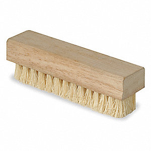 "4-3/4"" Wood Hand and Nail Brush"
