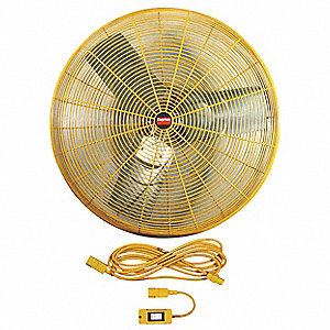 AIR CIRCULATOR,30IN BLADE DIA,NON-OSC