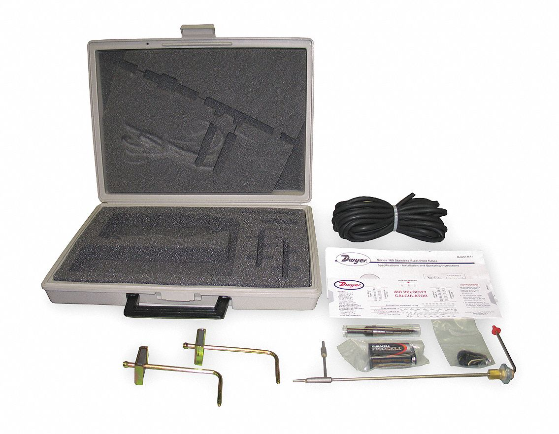 Digital Manometer Accessory Kit