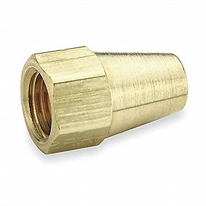 "Long Nut, Flare Connection Type, 3/16"" Tube Size, 10PK"