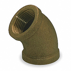Elbow,45Deg3/4In,Red Brass