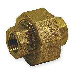 Union,Red Brass,3/8 In,150 PSI