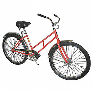Bicycle,Ladies Style,26 In Wheel,Yellow
