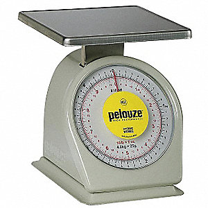 Washable Dial Scale,Mechanicl,4.5kg/10lb