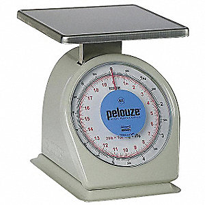 9kg/20 lb. Mechanical Analog Dial Compact Bench Scale