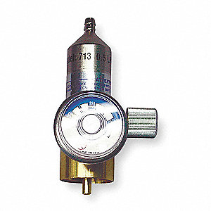Gas Regulator, Flow Rate 0.5Lpm