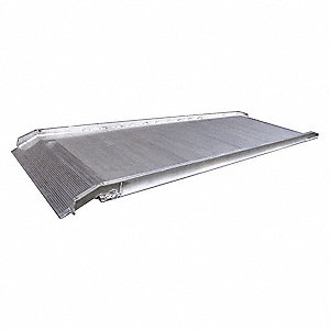 "Walk Ramp, 1500 lb. Load Capacity, 38"" Overall Width, 10 ft. Overall Length"