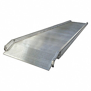"Walk Ramp, 1400 lb. Load Capacity, 28"" Overall Width, 12 ft. Overall Length"
