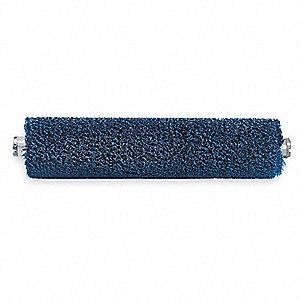 Conveyor Cylinder Brush,L22In,OD8In