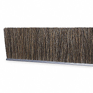 Strip Brush, 3/16 W, 12 In L, Trim 1 In