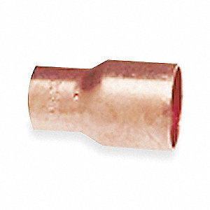 Reducer,Wrot Copper,C x C,1/2 x 1/8 In