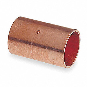 "Wrot Copper Coupling, Dimple Stop, C x C Connection Type, 4"" Tube Size"