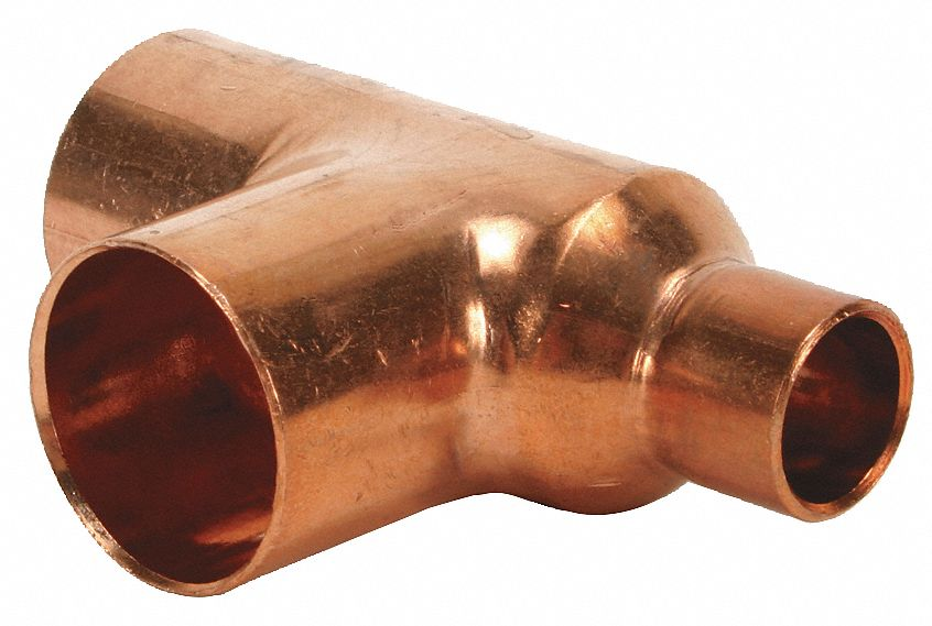 Nibco Reducing Tee Wrot Copper 2 In X 1 In X 2 In C X C X C 1vmd7 611rr 2x1x2 Grainger