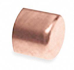 Nibco Cap Wrot Copper 2 1 2 In C 1vmg6 617 21 2 Grainger