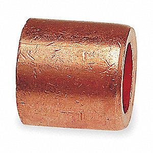 FLUSH BUSHING,1 X 3/4 IN,COPPER