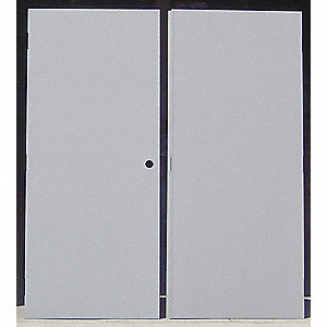 Flush Double Door,Type CE,Steel,PK2