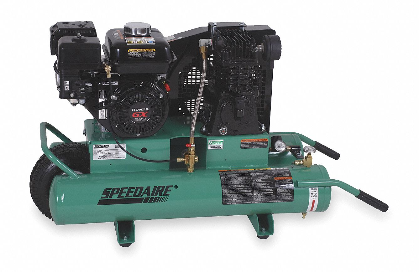 Portable Gas Engine Air Compressors