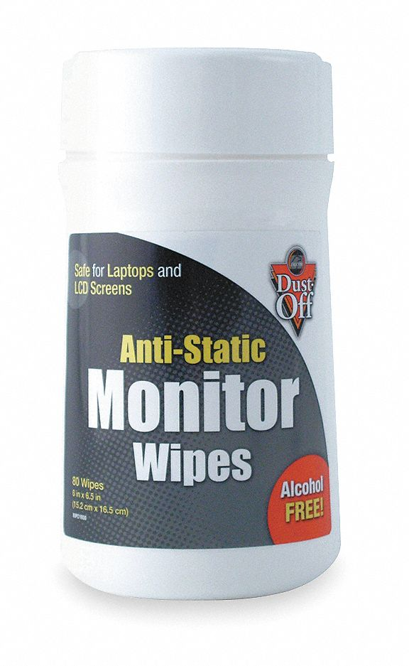 Screen Wipes, Recommended For Most Computer Screens And Laptops