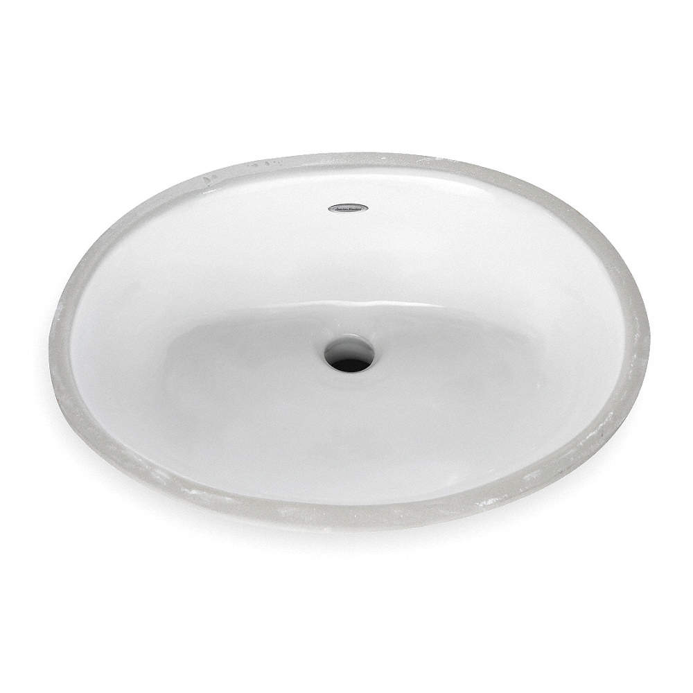 American Standard Vitreous China Undermount Bathroom Sink Without