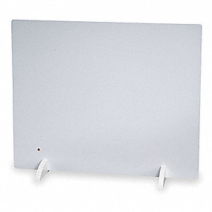 "28-1/2"" x 3/4"" x 23"" Radiant Non-Oscillating Electric Flat Panel Heater, White"