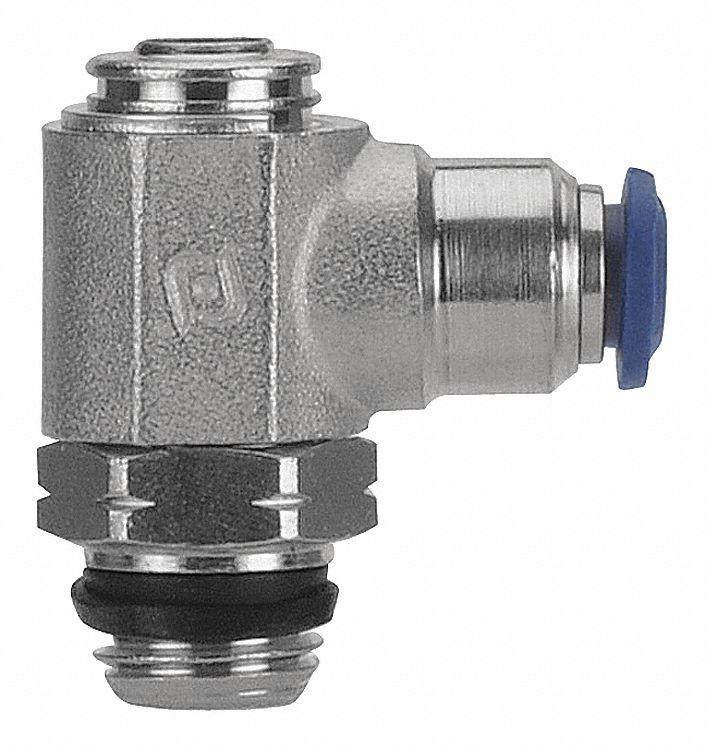 WCML08//04 Aignep Messing Nieten Ellenbogen Rohr Od 8mm X Bspt Stecker Gewinde