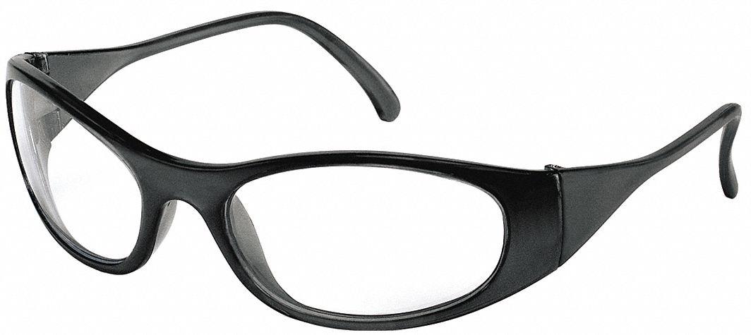 Eyeglass Frame Inventory Management : CONDOR Freeze Scratch-Resistant Safety Glasses, Clear Lens ...