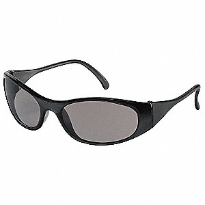 Freeze  Scratch-Resistant Safety Glasses, Gray Lens Color