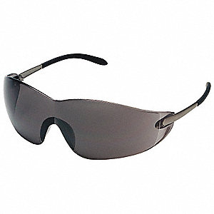 Winger™ Scratch-Resistant Safety Glasses, Gray Lens Color