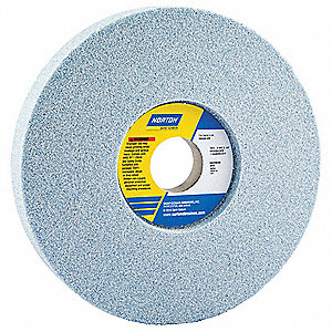 "Type 5 Ceramic Recessed Grinding Wheel,  7"",  3/4"" Thickness,  46 Abrasive Grit"