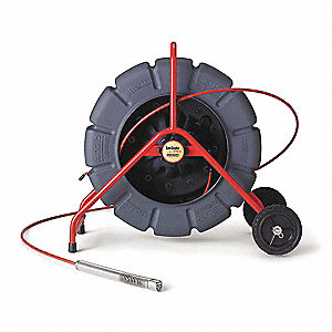 Pipe Inspection Camera Reel,Color,325 Ft