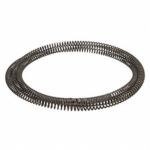 "Sectional Drain Cleaning Cable 7/8"" x 15 ft."