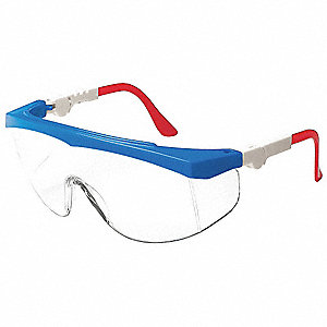 Spirit  Scratch-Resistant Safety Glasses, Clear Lens Color