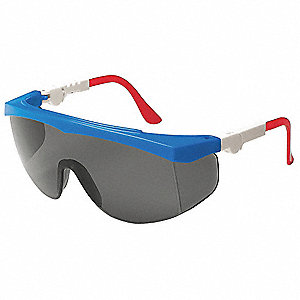 Spirit  Scratch-Resistant Safety Glasses, Gray Lens Color