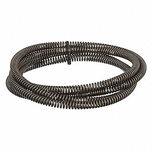 Drain Cleaning Cable,5/8 In. x 10  ft.