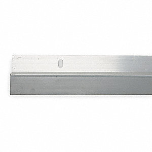 Single Fin Door Sweep Aluminum 3 ft. Length 23/32   sc 1 st  Grainger & GRAINGER APPROVED Single Fin Door Sweep Aluminum 3 ft. Length 23 ...