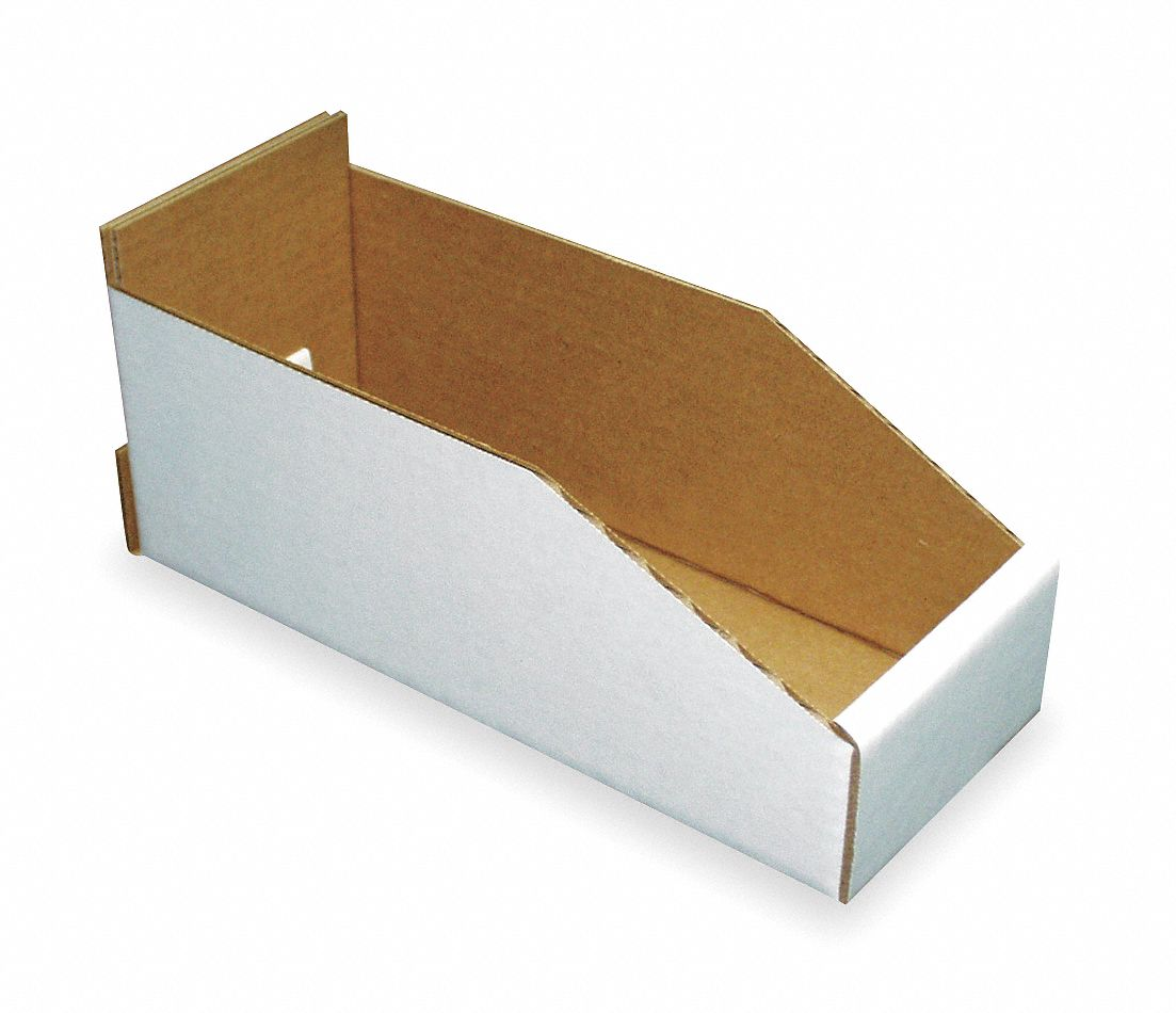 Corrugated Shelf Bins And Dividers