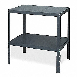 "Machine Stand, 24"" Width, Steel1500 lbs. Load Rating"
