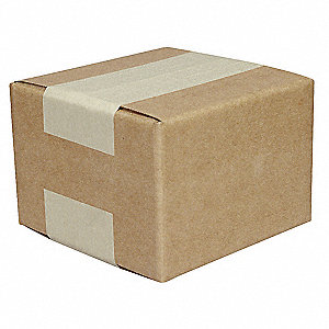 "Shipping Carton, Brown, Inside Width 8"", Inside Length 8"", Inside Depth 8"", 65 lb., 1 EA"