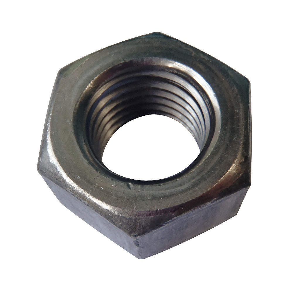 12-24 Stainless Hex Nut 100 pieces
